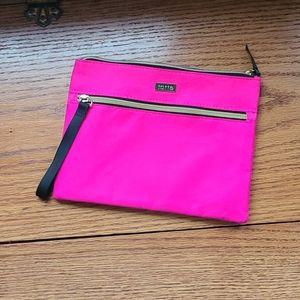 Tarte pink makeup bag